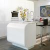 Hacer diseño de cocina integrada en el salón