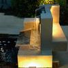 Diseño de fuente de piedra