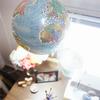DIY globo terráqueo lámpara