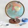 diy globo terraqueo materiales