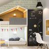 dormitorio de niños modular con forma de casita