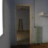 Dormitorio (estado previo) Futura zona de Cocina