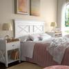 Dormitorio, fotografía que aparece en la revista EL MUEBLE.