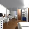 Dormitorio matrimonio + zona estudio 5