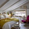 Dormitorio principal cubierta inclinada