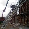 Construccion muro jardin de 25 metros