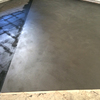 El suelo de cemento pulido