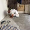 La preparación suelo de resina reflector