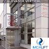 Instalacion elevador en adosado