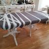 Embalaje mesa con manta doble y csrton