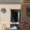 Enfoscado de fachada con mortero monocapa