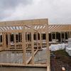 Entramado pesado de madera para vivienda Passivhaus