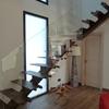 escalera de diseño de hierro
