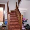 Escalera en gres y madera