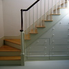 Escalera integrada con mueble