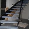 Escalera y baranda helicoidal