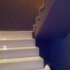 escaleras de silestone y pintura