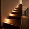 Escaleras iluminadas