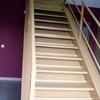 Construccion dos escaleras de 5m en nave
