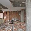 Estado demolición de la vivienda