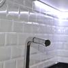 Estado reformado: Detalle azulejos pared.