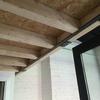 Colocar casa de madera laminada