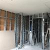 Estructura de steel framing sin revestir interiormente