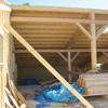 estructura en madera de laminada de abeto