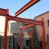 Estructura metalica para una casa en Toledo