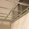 Estructura recta metálica de falso techo