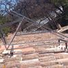 Estructura soporte del equipo termosifón