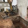 Excavación a 3,5 m profundidad