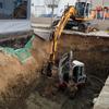 Excavación piscina 7x4x2 m