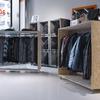 Exposición ropa. Diseño de expositores.