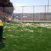 Extensión manual de arena de sílice
