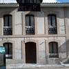 fachada en proceso de restauración