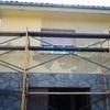 fachada en restauración