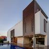 Empastar y pintar fachada vivienda unifamiliar obra nueva santa brígida