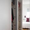 frente de armario e interior