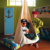 habitación infantil pirata
