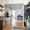 iluminación estratégica en cocina