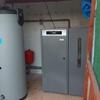 Instalación de caldera de biomasa y depósito de inercia
