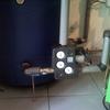 Caldera de pellets con instalación de radiadores