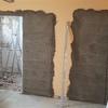Instalación de casetones metálicos para puertas de corredera