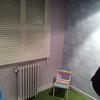 Instalación de Cesped artificial y Papel imitación Cielo