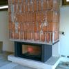 Instalación tubos chimenea de leña
