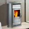 Instalacion de estufa y tubos de chimenea