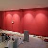 Instalación del Revestimiento Acústico en Rojo