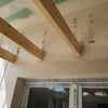 Instalación vigas de madera