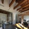 Interior del estudio rehabilitado